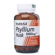 HEALTH AID Psyllium Husk 1000mg 60Caps, fig. 1