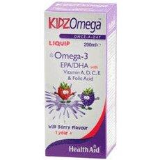 HEALTH AID Kidz Omega Παιδικά Ιχθυέλαια Υγρό Πόσιμο 200ml, fig. 1