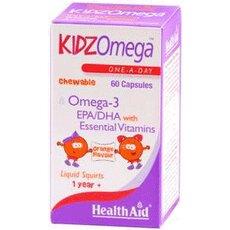 HEALTH AID Kidz Omega Παιδικά Ιχθυέλαια 60 Μασώμενα Δισκία, fig. 1