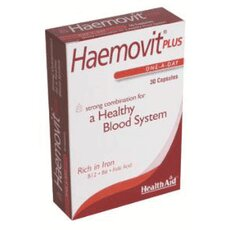 HEALTH AID Haemovit Plus 30Caps, fig. 1