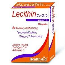 HEALTH AID Lecithin 1000mg + Vitamin E 45iu + CoQ10 10mg 30Caps, fig. 1