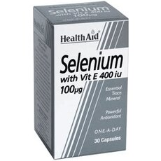 HEALTH AID Selenium with Vitamin E 30Caps, fig. 1