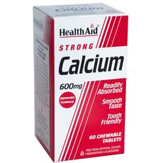 HEALTH AID CALCIUM strong 600mg 60 Chew Tabs, fig. 1