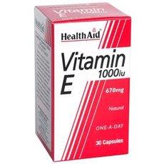 HEALTH AID Vitamin E 1000iu 30Caps, fig. 1