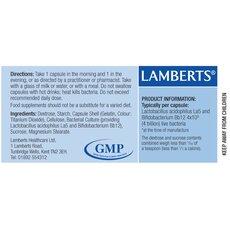 LAMBERTS Acidophilus Extra 4 Προβιοτικό Σκεύασμα 60 Capsules, fig. 2
