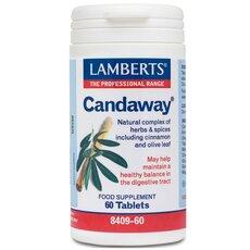 LAMBERTS Candaway Ισορροπία στο Πεπτικό Σύστημα 60 Tablets