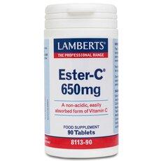 LAMBERTS Ester C 650mg 90 Tablets, fig. 1