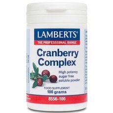 LAMBERTS Cranberry Complex Σύμπλεγμα για την Υγεία του Ουροποιητικού σε Σκόνη 100gr