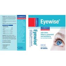 LAMBERTS Eyewise Διατήρηση της Φυσιολογικής Όρασης 60 Tablets, fig. 2