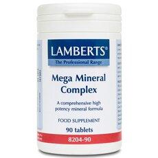 LAMBERTS Mega Mineral Complex Σύμπλεγμα Μετάλλων 90 Tablets, fig. 1