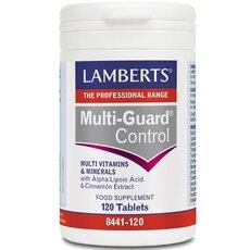 LAMBERTS Multi Guard Control Πολυβιταμίνη 120 Tablets