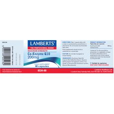 LAMBERTS Co-Enzyme Q10 200mg 60 Capsules, fig. 2
