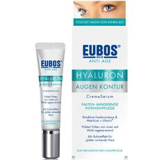 Eubos Anti Age Hyaluron Eye Contour CreamSerum, 15ml, fig. 1