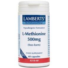 LAMBERTS L-Methionine Μεθειονίνη 500 mg