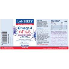 LAMBERTS Omega 3 for Kids, 100 Capsules, fig. 2