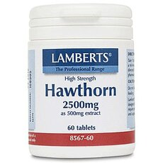 LAMBERTS Hawthorn 2500mg 60 Ταμπλέτες