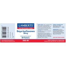LAMBERTS Soya Isoflavones 50mg Ισοφλαβονοειδή Σόγιας 60 Tαμπλέτες, fig. 3