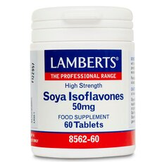 LAMBERTS Soya Isoflavones 50mg Ισοφλαβονοειδή Σόγιας 60 Tαμπλέτες, fig. 1