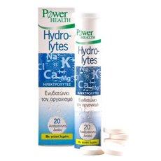 POWER HEALTH Hydrolytes Ηλεκτρολύτες 20 Αναβράζοντα Δισκία + Δωρο Μαγνήσιο Mg 10 Αναβράζοντα Δισκία