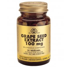 Solgar Grape Seed Extract 100mg, 30Vegicaps, fig. 1
