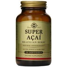 Solgar Super Acai Extract Αντιοξειδωτική Δράση 50 Softgels, fig. 1