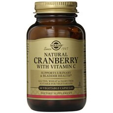Solgar Cranberry Extract with Vitamin C 400mg 60caps