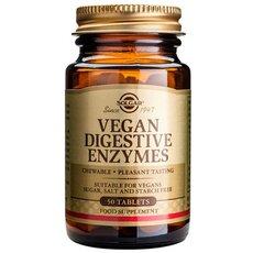 Solgar Vegan Digestive Enzymes Φούσκωμα - Δυσπεψία 50 Tablets, fig. 1