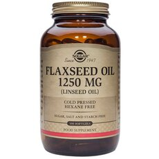 Solgar Flaxseed Oil (Cold Pressed) 1250mg , 100 Softgels, fig. 1