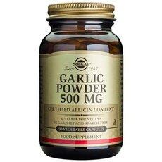 Solgar Garlic Powder 500mg , 90 Vegetable Capsules, fig. 1