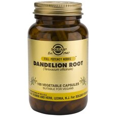 Solgar Dandelion Root Αποτοξινωτικό του Ήπατος - Διουρητικό 100 Capsules, fig. 1
