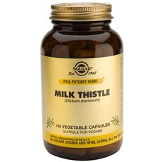 Solgar Milk Thistle, 100 Vegetable Capsules, fig. 1