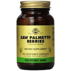 Solgar Saw Palmetto Μείωση Συμπτωμάτων του Προστάτη 100 Capsules, fig. 1