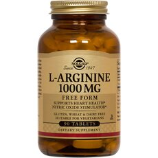 Solgar L-Arginine 1000mg , 90 Tablets, fig. 1