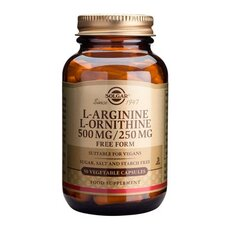 Solgar L-Arginine L-Ornithine, 50 Caps, fig. 1