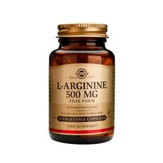 Solgar L-Arginine 500mg , 50 Vegetable Capsules, fig. 1