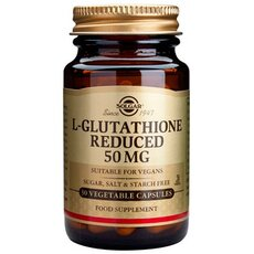 Solgar L-Glutathione, 50mg 30 Vegetable Capsules, fig. 1