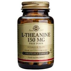 Solgar L-Theanine Προάγει την Χαλάρωση του Οργανισμού 150mg, 30 Vegetable Tablets, fig. 1