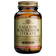 Solgar Calcium Magnesium Citrate 50 Tablets, fig. 1