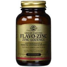 Solgar Flavo-Zinc 23mg Ψευδάργυρος 50 Lozenges, fig. 1