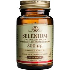 Solgar Selenium 200μg Σελήνιο 50 Tablets, fig. 1