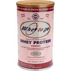 Solgar Whey To Go Protein, Φράουλα 454gr, fig. 1