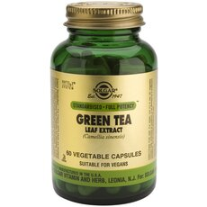 Solgar Green Tea Leaf Extract 60 Vegetable Capsules, fig. 1