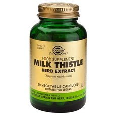 Solgar Milk Thistle Herb & Seed Extract , 60 Vegetable Capsules, fig. 1