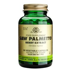 Solgar Saw Palmetto Berry Extract , 60 Vegetable Capsules, fig. 1