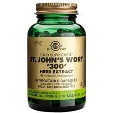 Solgar St. John's Wort Herb Extract 300mg Κατά των Παθογόνων Κατάθλιψη 50 Capsules, fig. 1