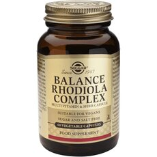 Solgar Balance Rhodiola Complex 60 Vegetable Capsules, fig. 1