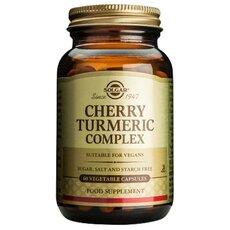 Solgar Cherry Turmeric Complex Αντιοξειδωτική και Αντιφλεγμονώδη Δράση 60 Capsules, fig. 1