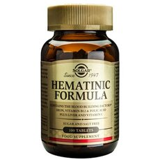 Solgar Hematinic Formula , 100 Tablets, fig. 1