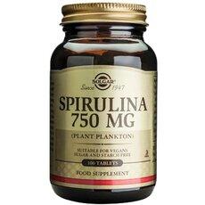 Solgar Spirulina Σπιρουλίνα 100 Tablets, fig. 1