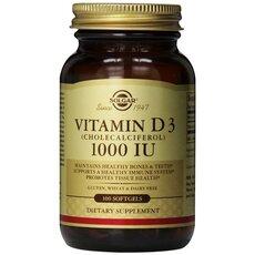 Solgar Vitamin D3 1000IU ,100 Softgels, fig. 1